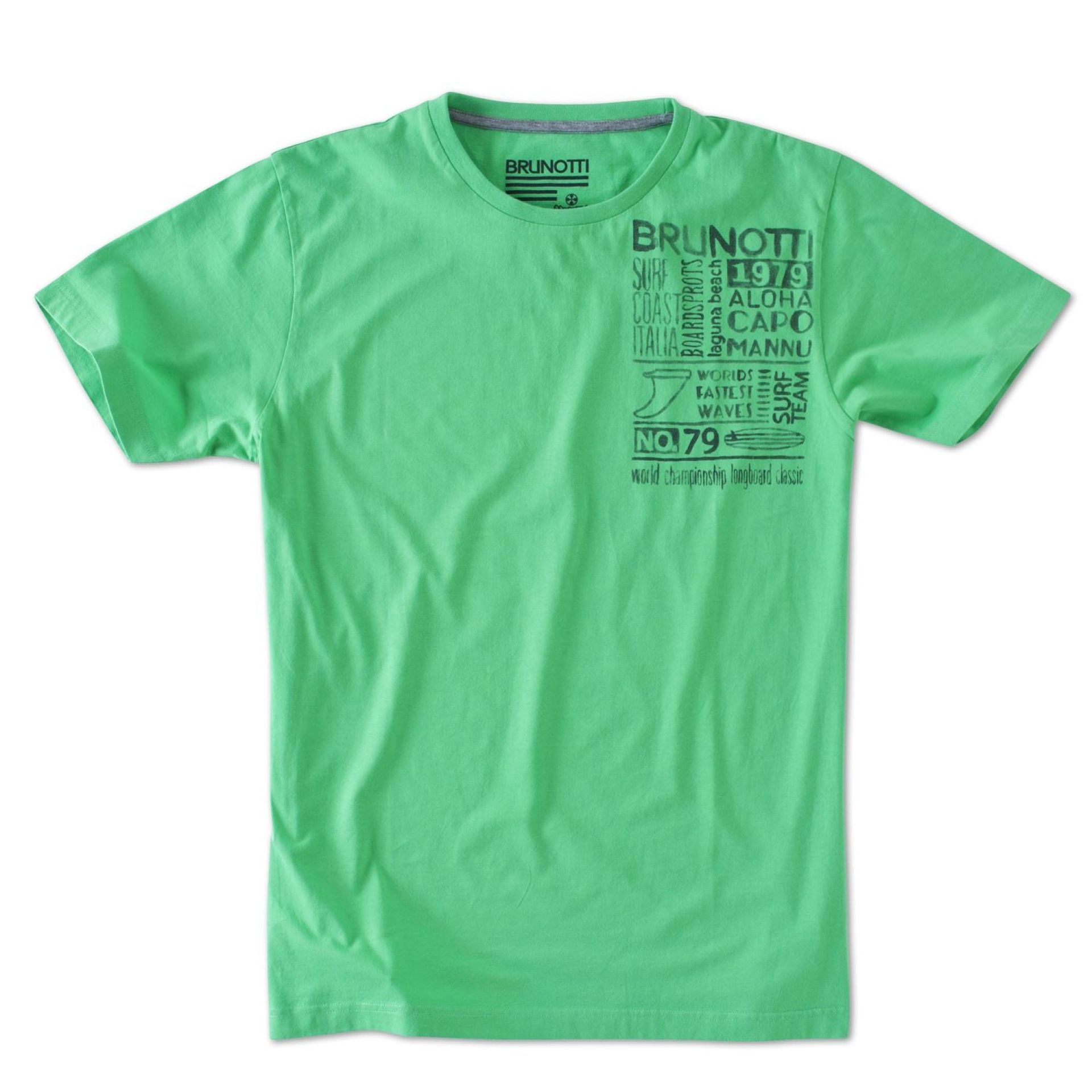 T-shirt Brunotti Altaro P-6011 Zielony