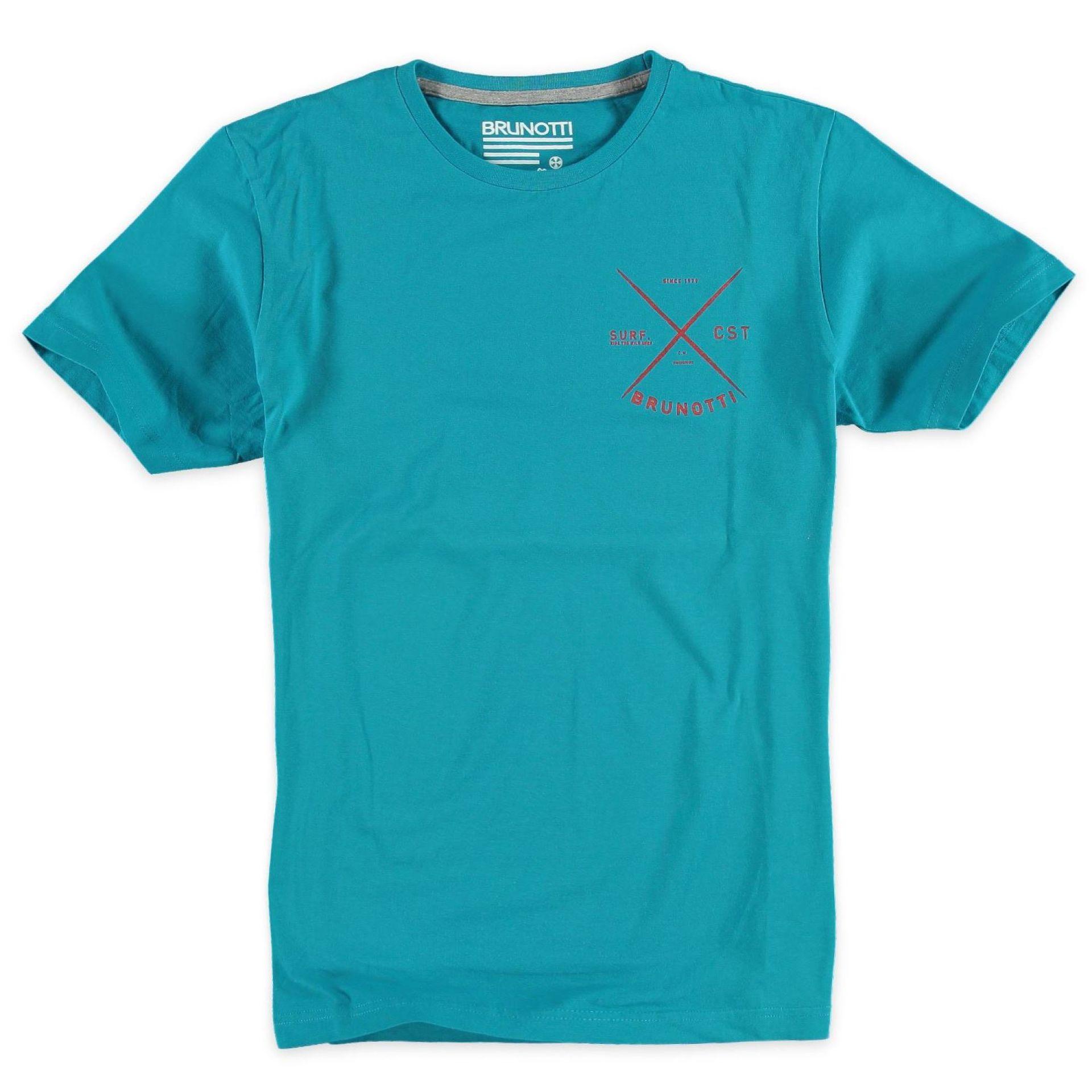 T-shirt Brunotti Altaro P-6026 Niebieski Przód