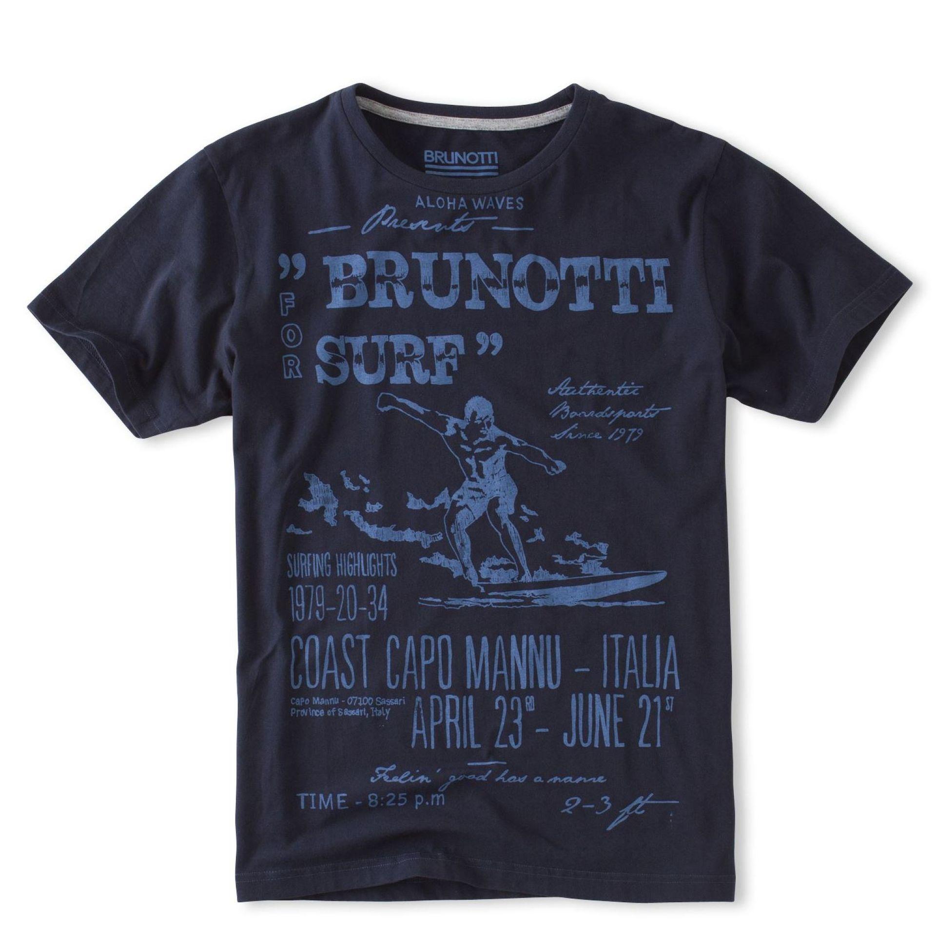 T-shirt Brunotti Altaro P-669 Czarny