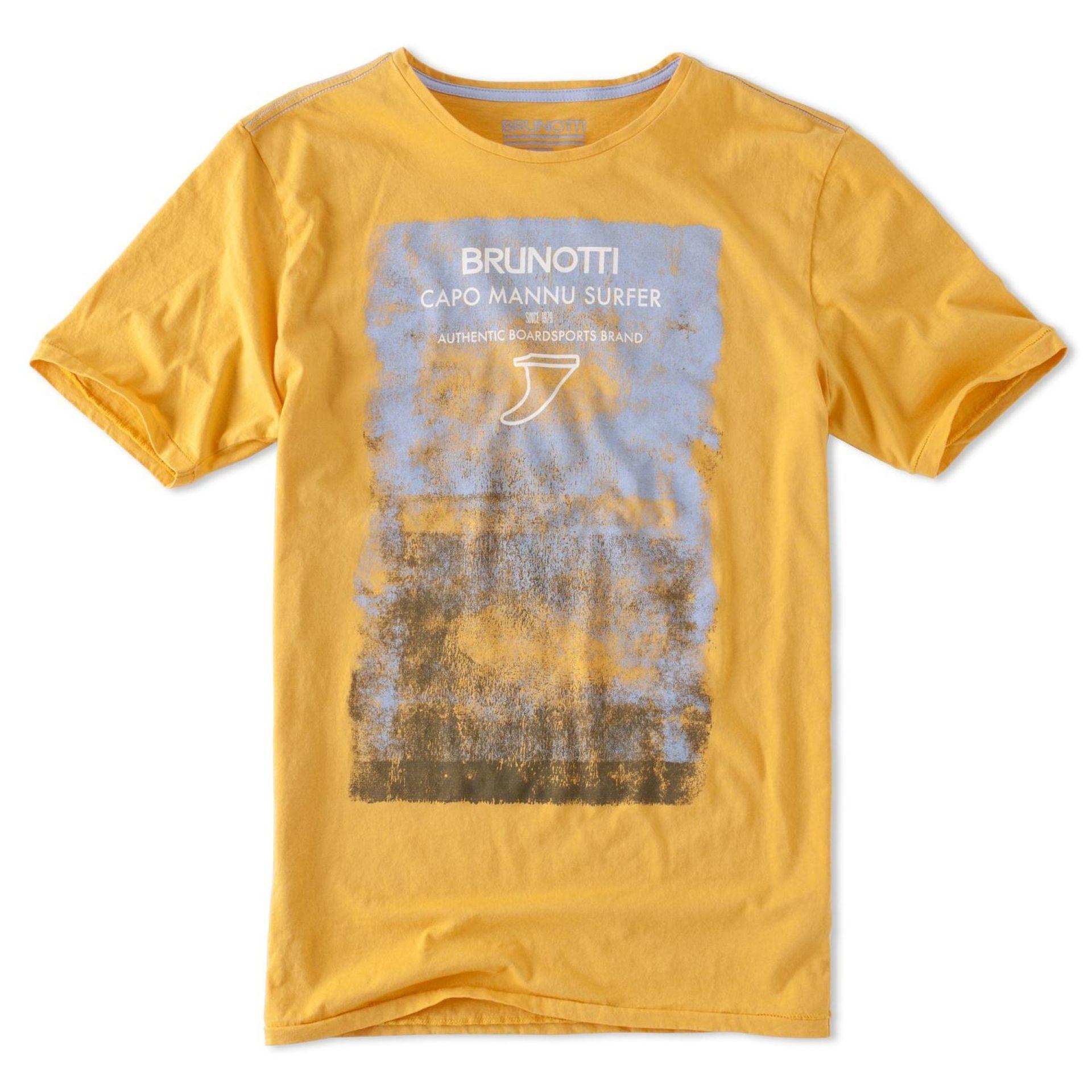 T-shirt Brunotti Amador Żółty