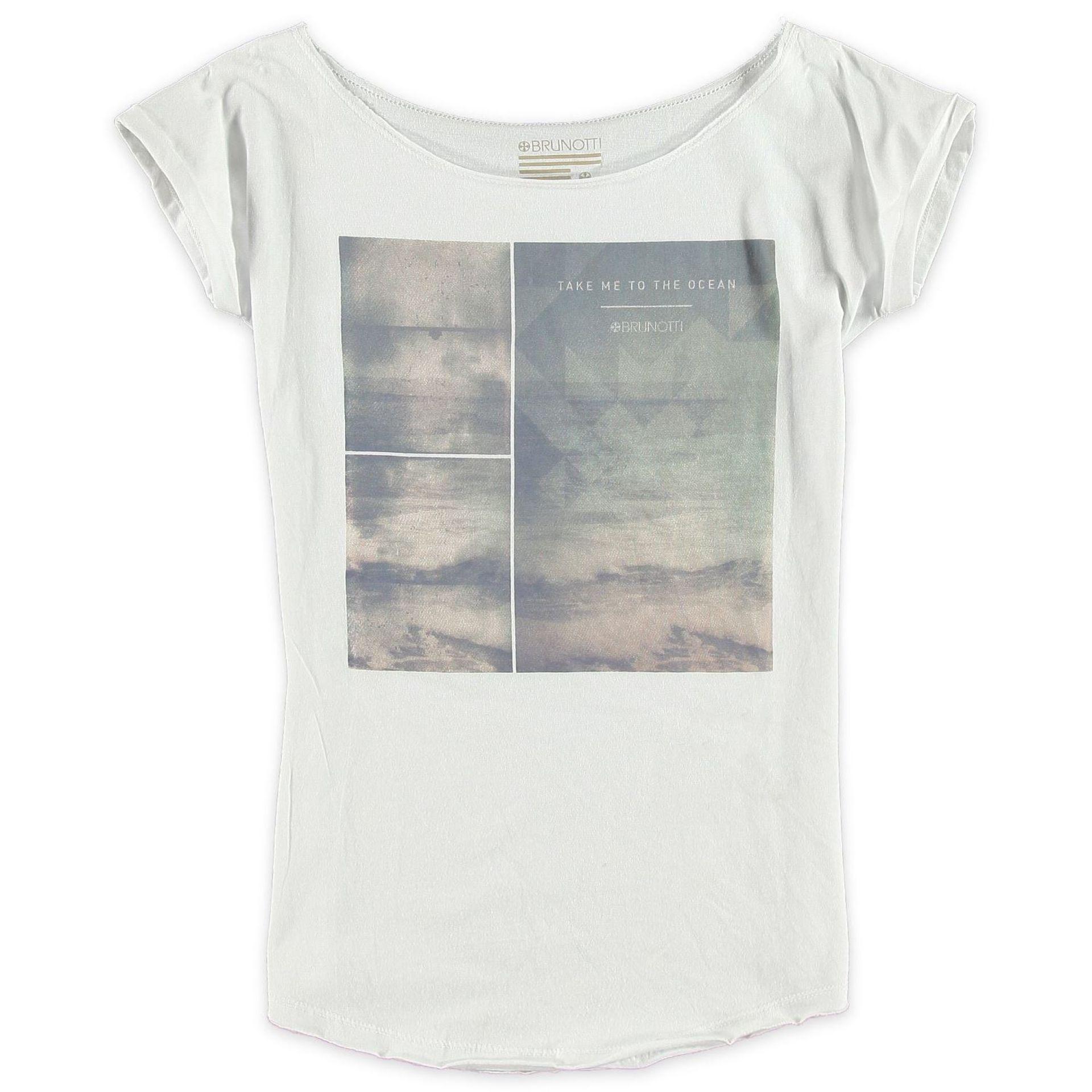 T-shirt Brunotti Babien Biały