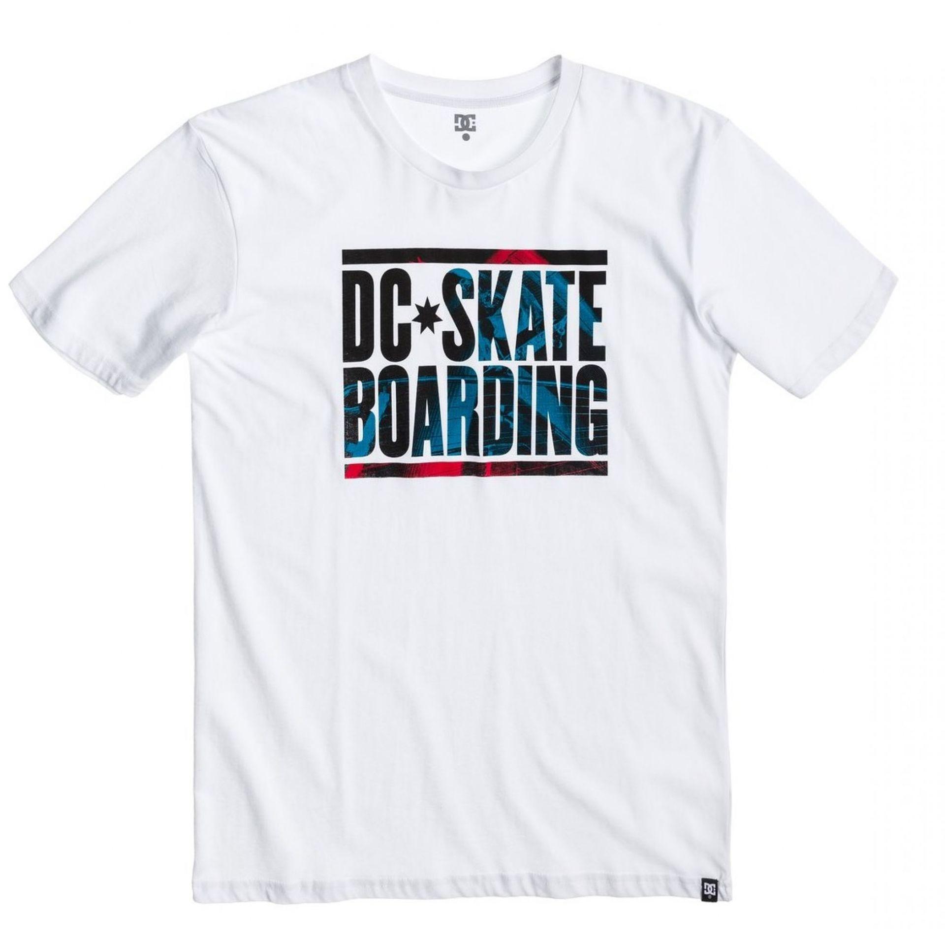 T-shirt DC Nu Slip SS biały
