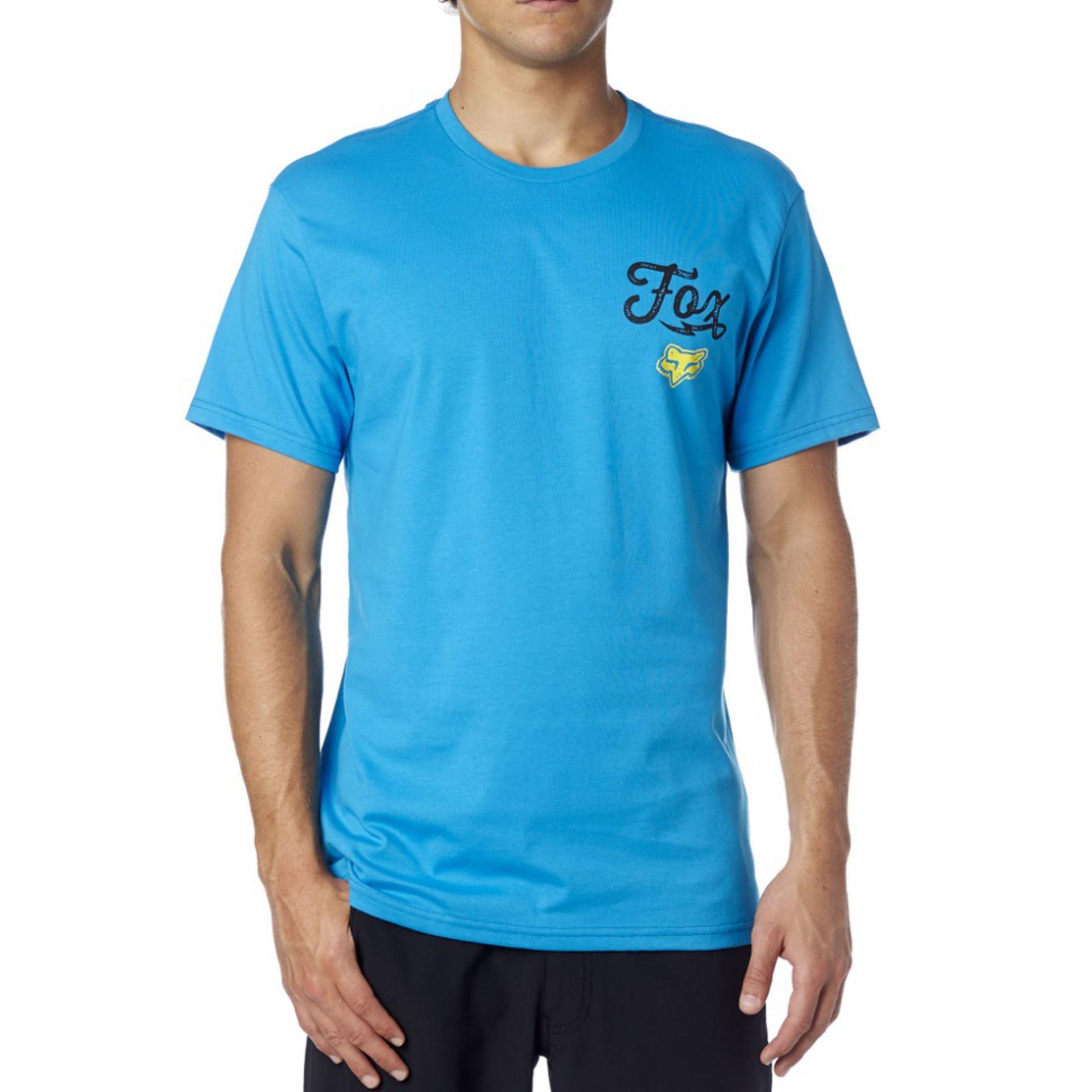 T-SHIRT FOXHEAD DIRTQUAKE ELECTRIC BLUE