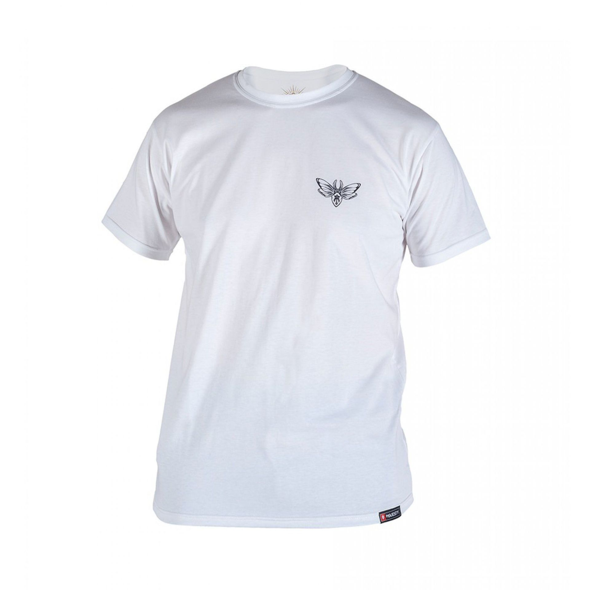 T-SHIRT MAJESTY BIKER WHITE 1