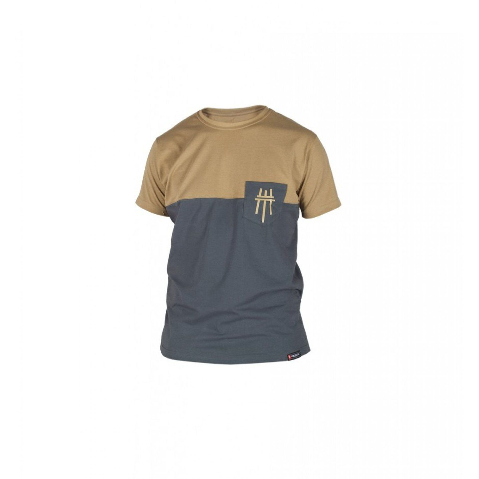 T-SHIRT MAJESTY DOPPLER GREY|BROWN
