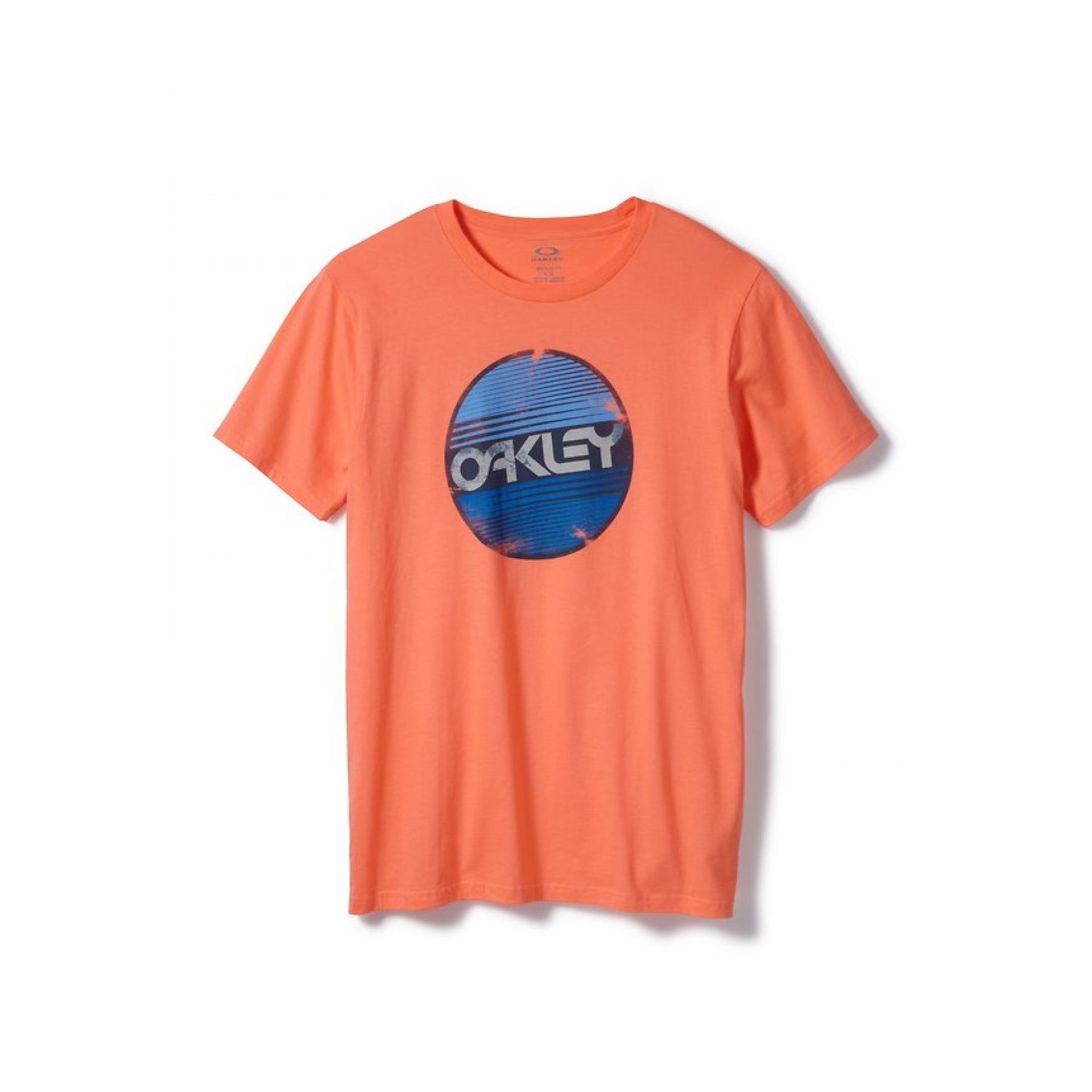 T-shirt Oakley Factory Circle Tee Coral Glow