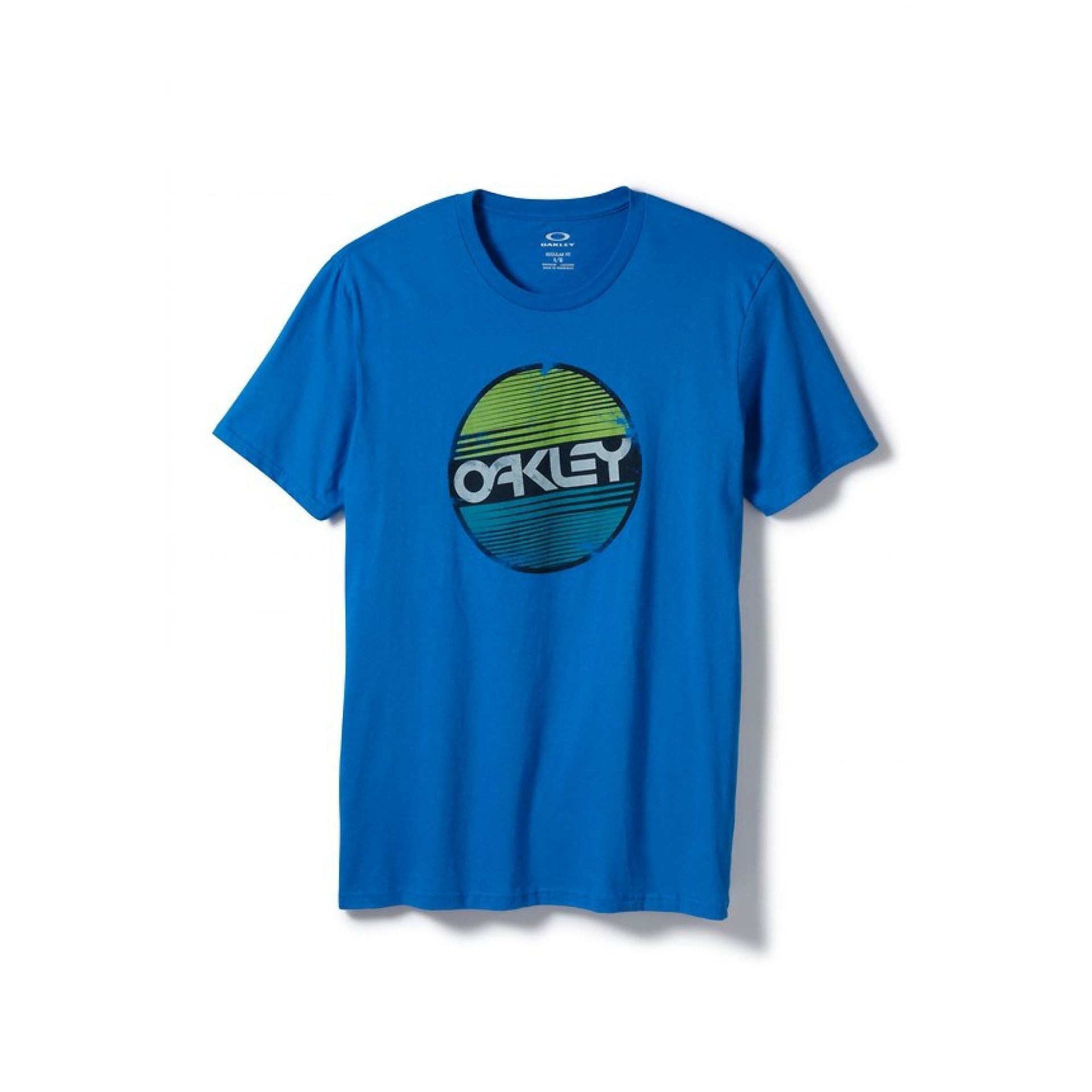 T-shirt Oakley Factory Circle Tee Electric Blue