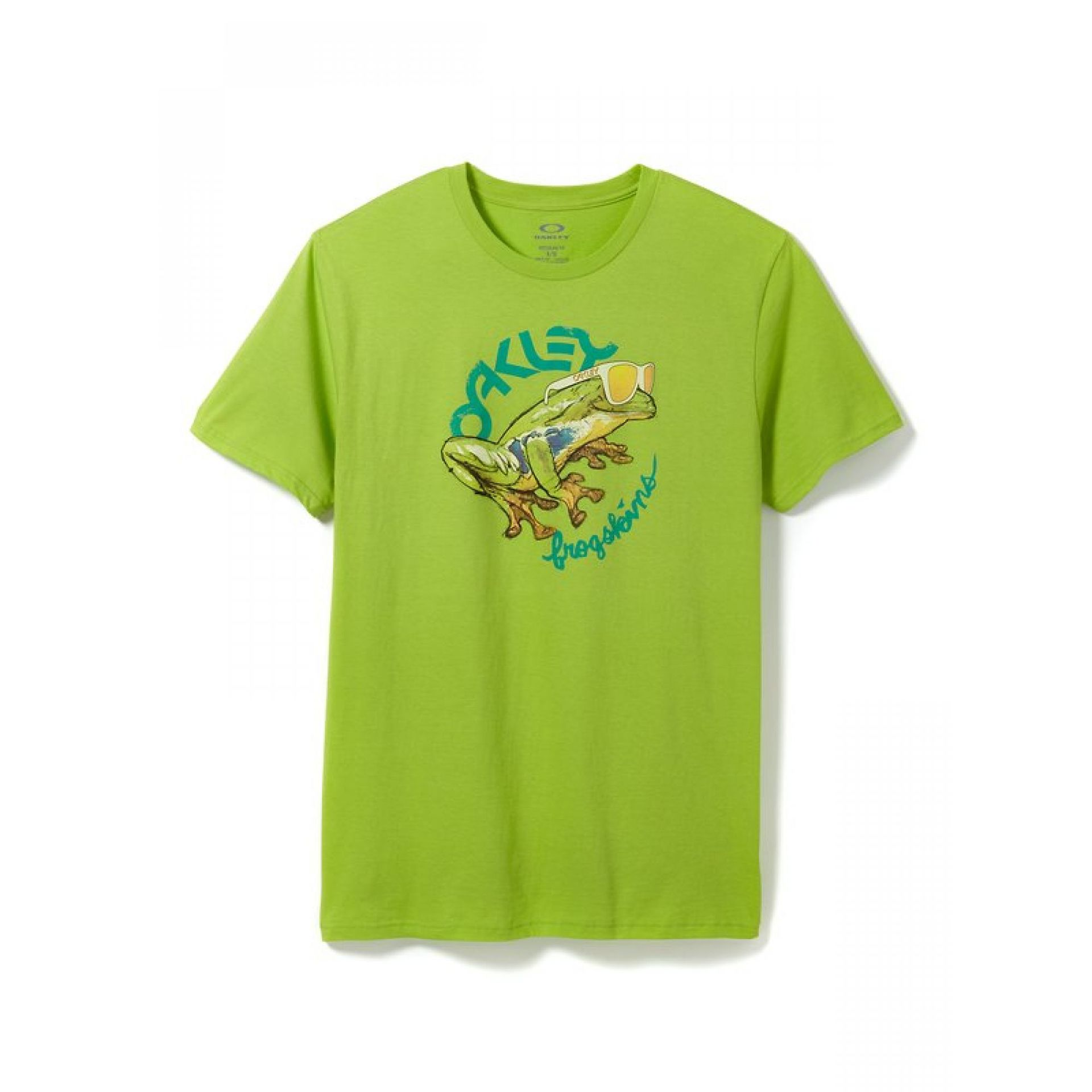 T-shirt Oakley Rock The Frogskins Tee Limone Green