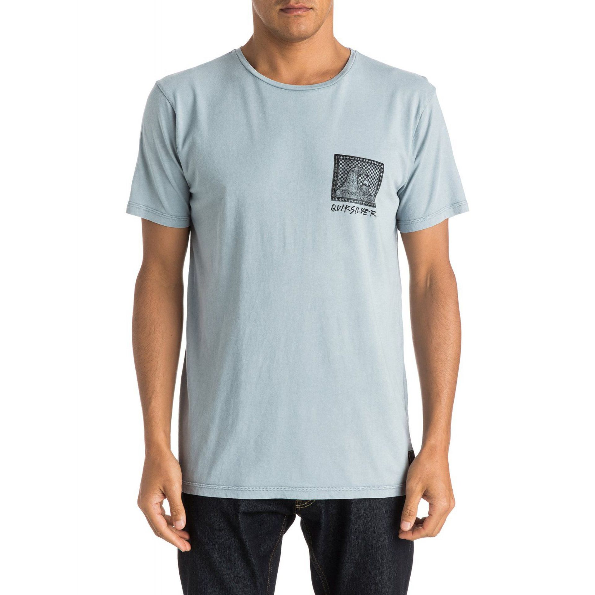T-SHIRT QUIKSILVER CHECKERED PAST SS SNA0