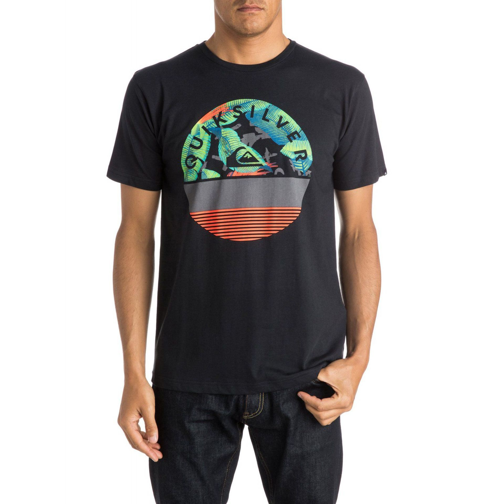 T-SHIRT QUIKSILVER CLASSIC TEE EXTINGUISHED KVJ0