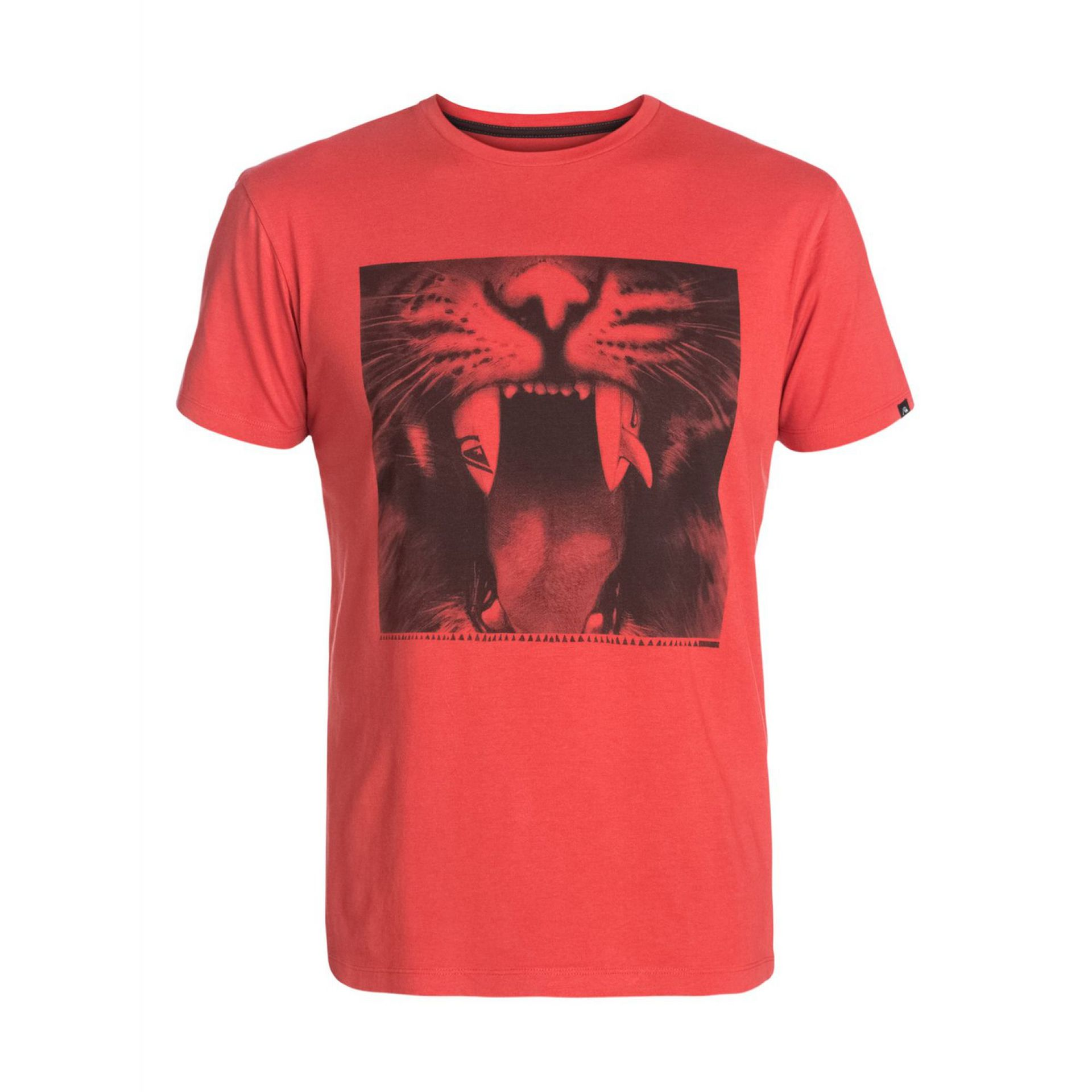 T-SHIRT QUIKSILVER ORGANIC TEE JAVA TIGER BAKED APPLE