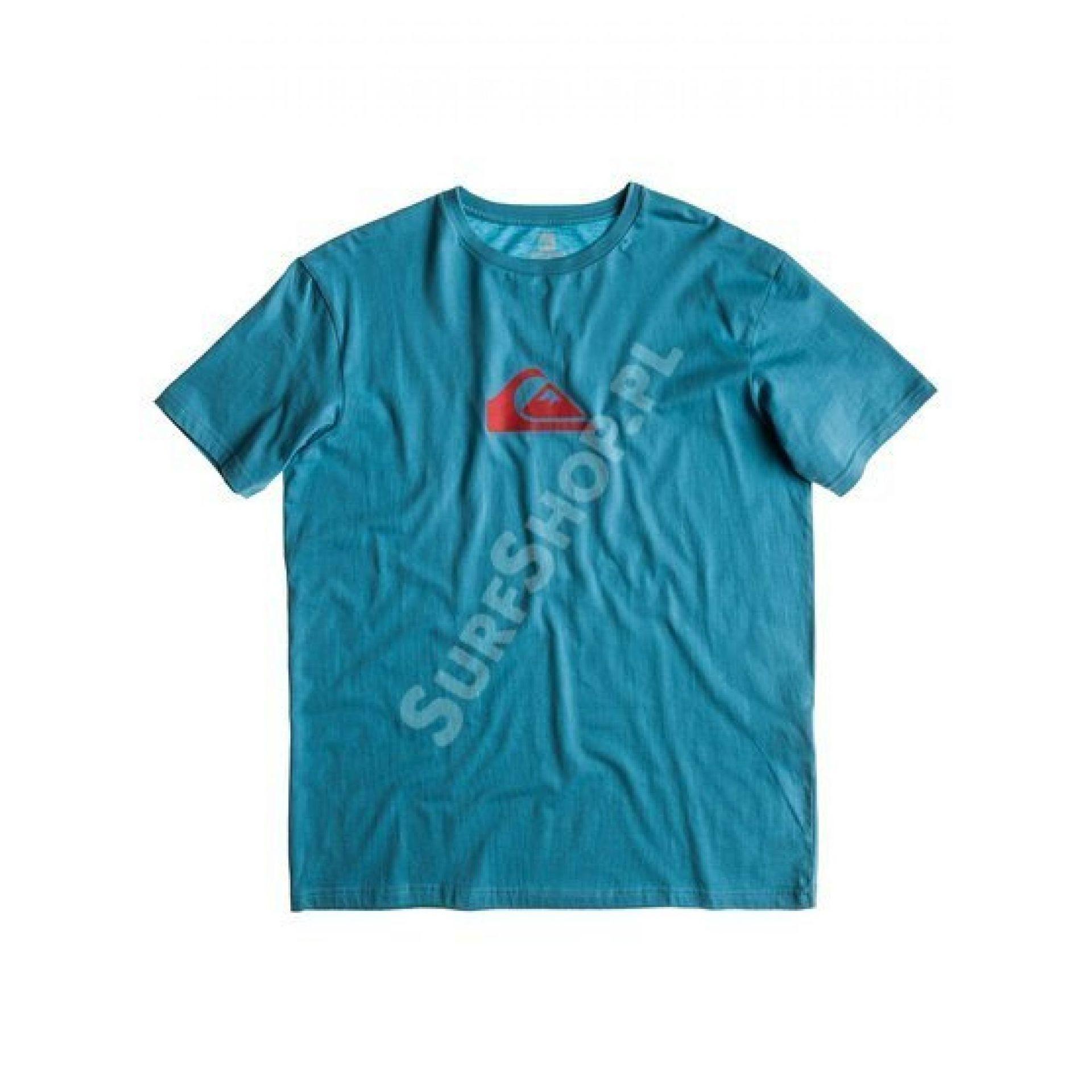 T-shirt Quiksilver Ss Basic Tee Logo niebieski