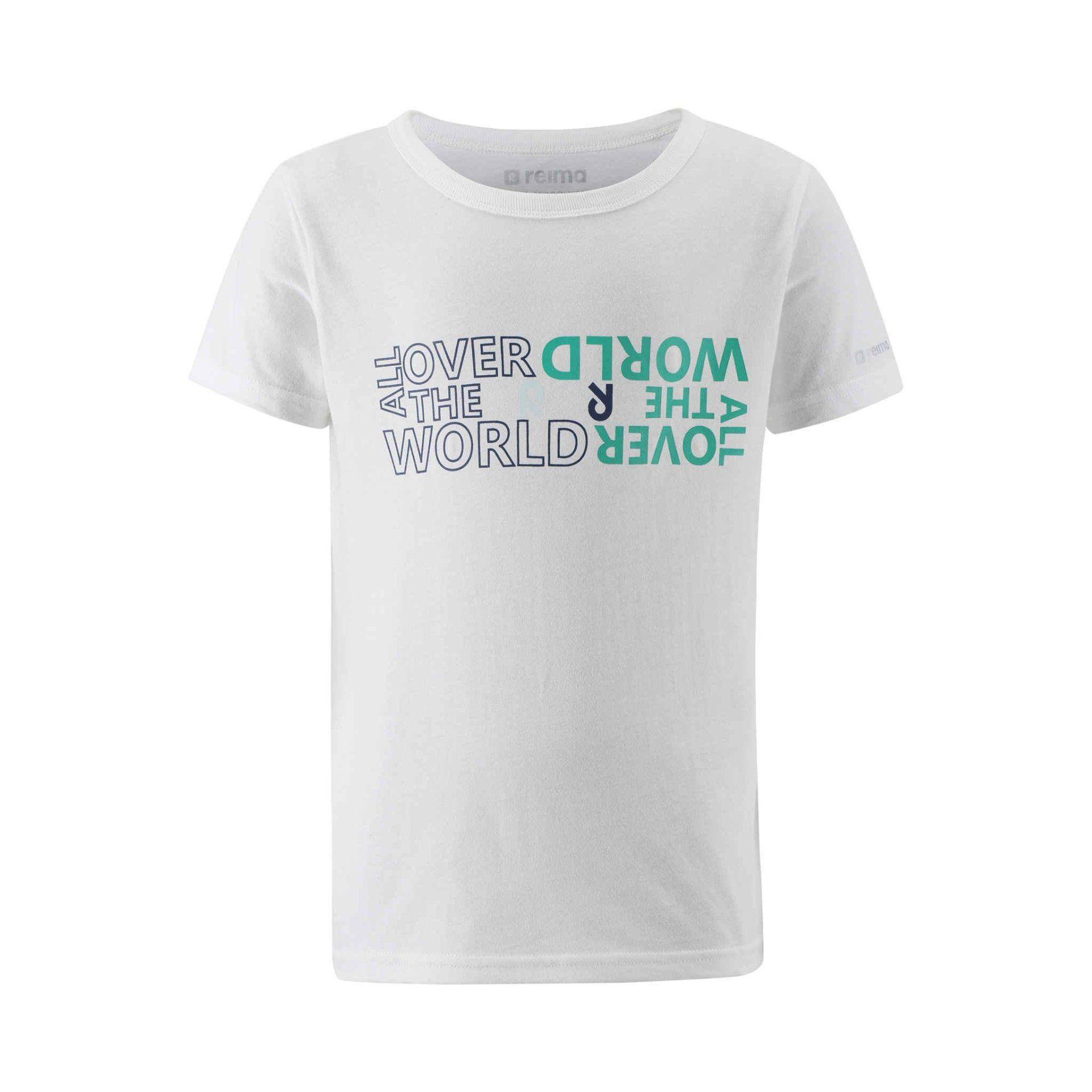 T-SHIRT REIMA SAILBOAT 536503-0110 OFF WHITE