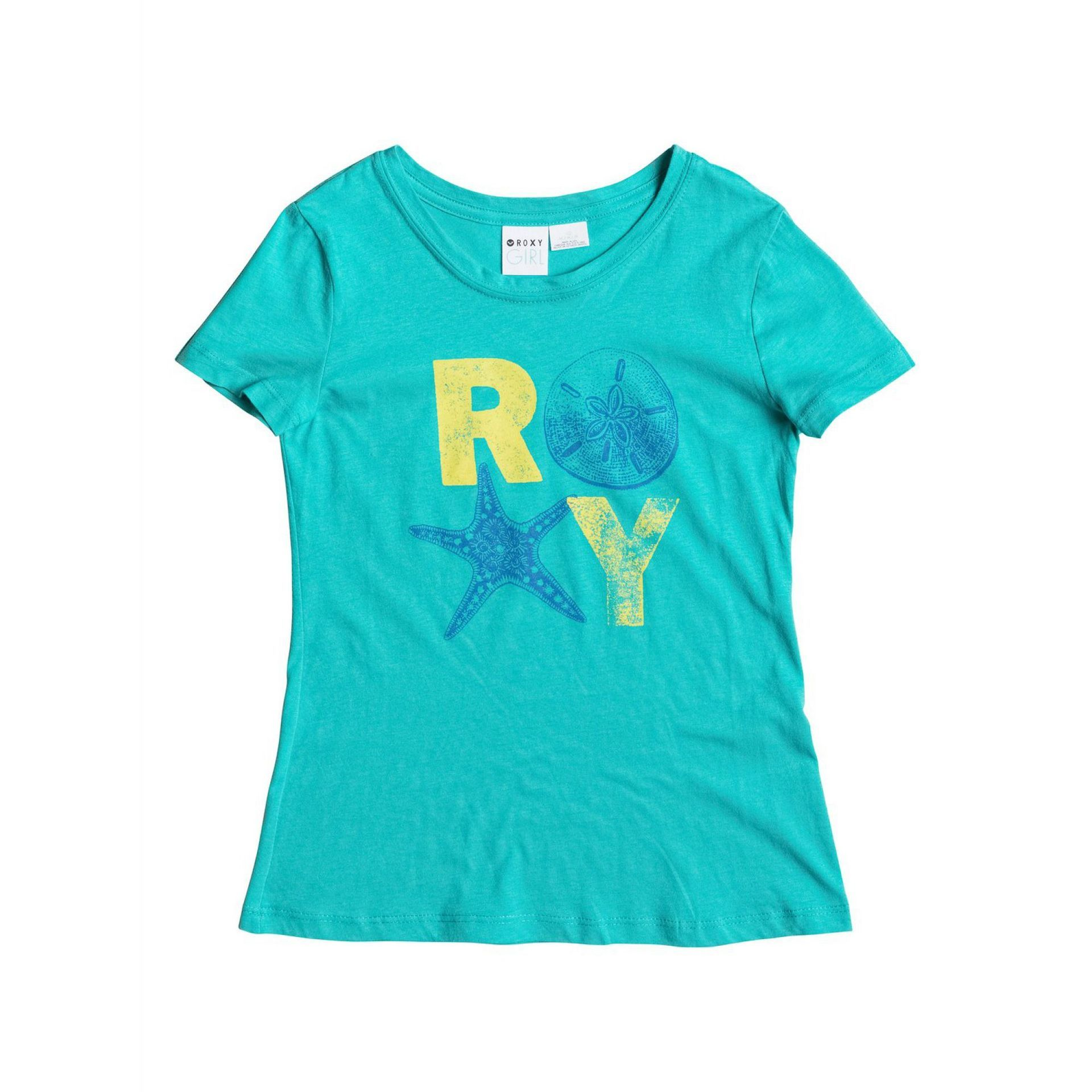 T-SHIRT ROXY BASIC TEE RG B BALTIC BLUE
