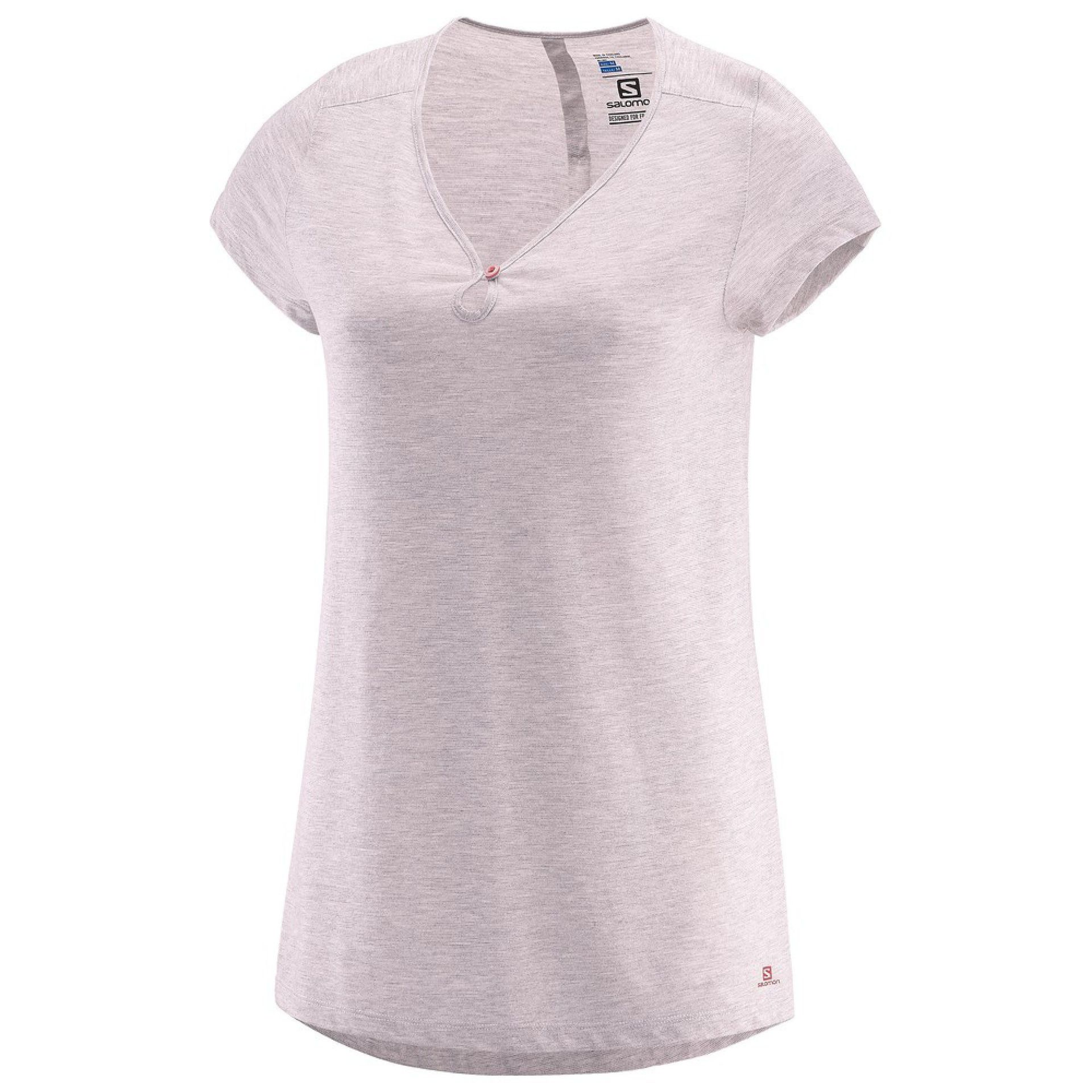 T-SHIRT SALOMON ELLIPSE SCOOP PINK DOGWOOD