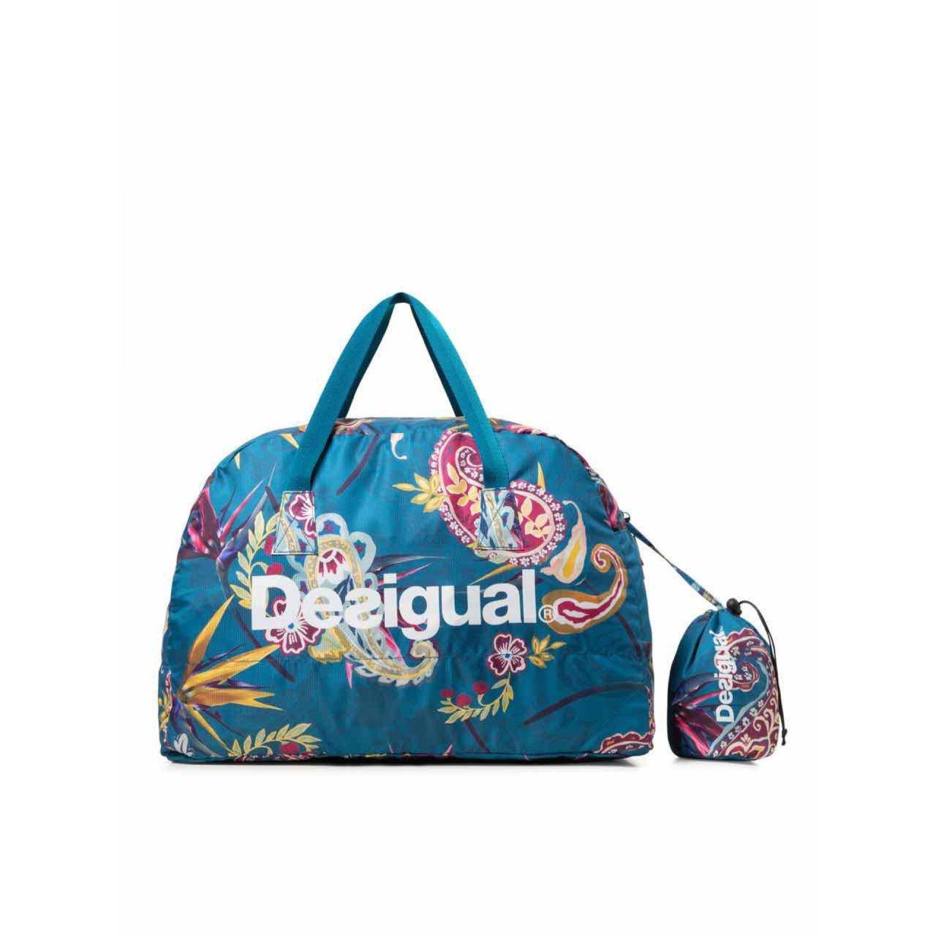 TORBA DESIGUAL PACKABLE BAG ETHNIC 19WQXW16-5049 1