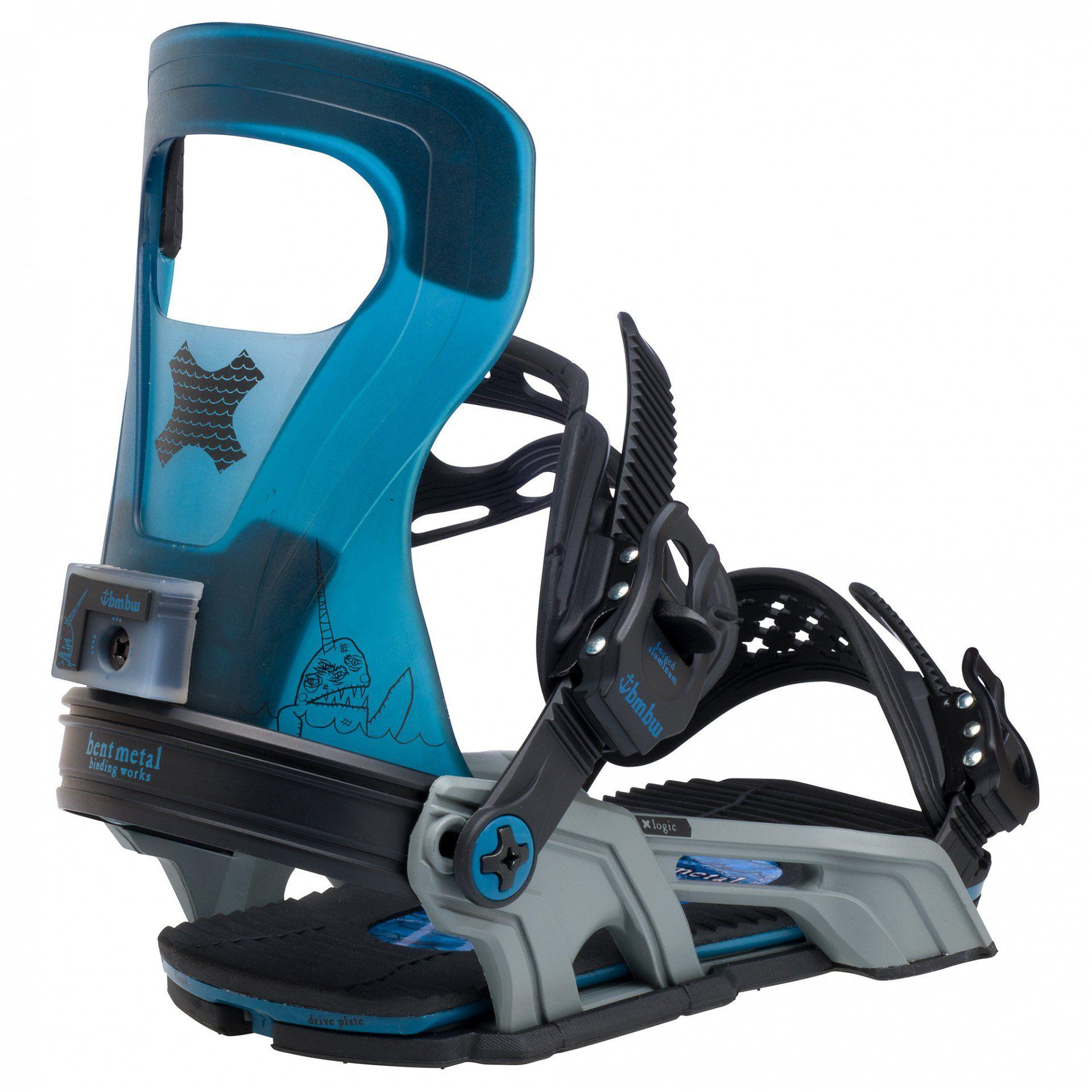 WIĄZANIA SNOWBOARDOWE BENT METAL LOGIC 20BN004 BLUE 2