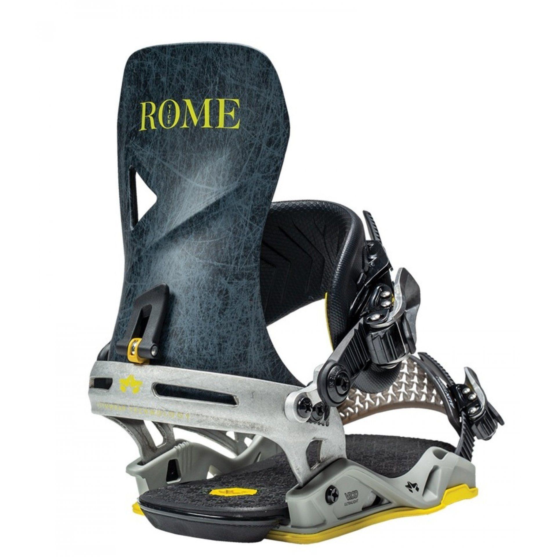 WIĄZANIA SNOWBOARDOWE ROME VICE GREY LINES