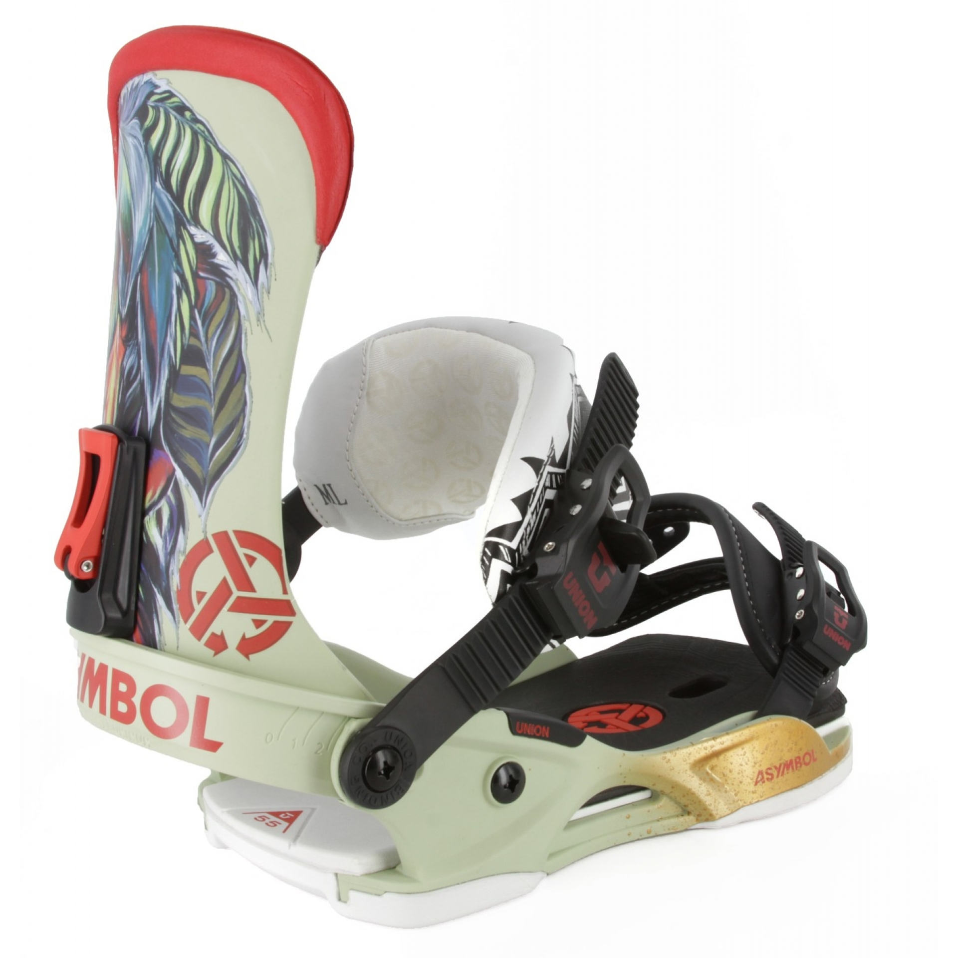 Wiązania snowboardowe Union Asymbol