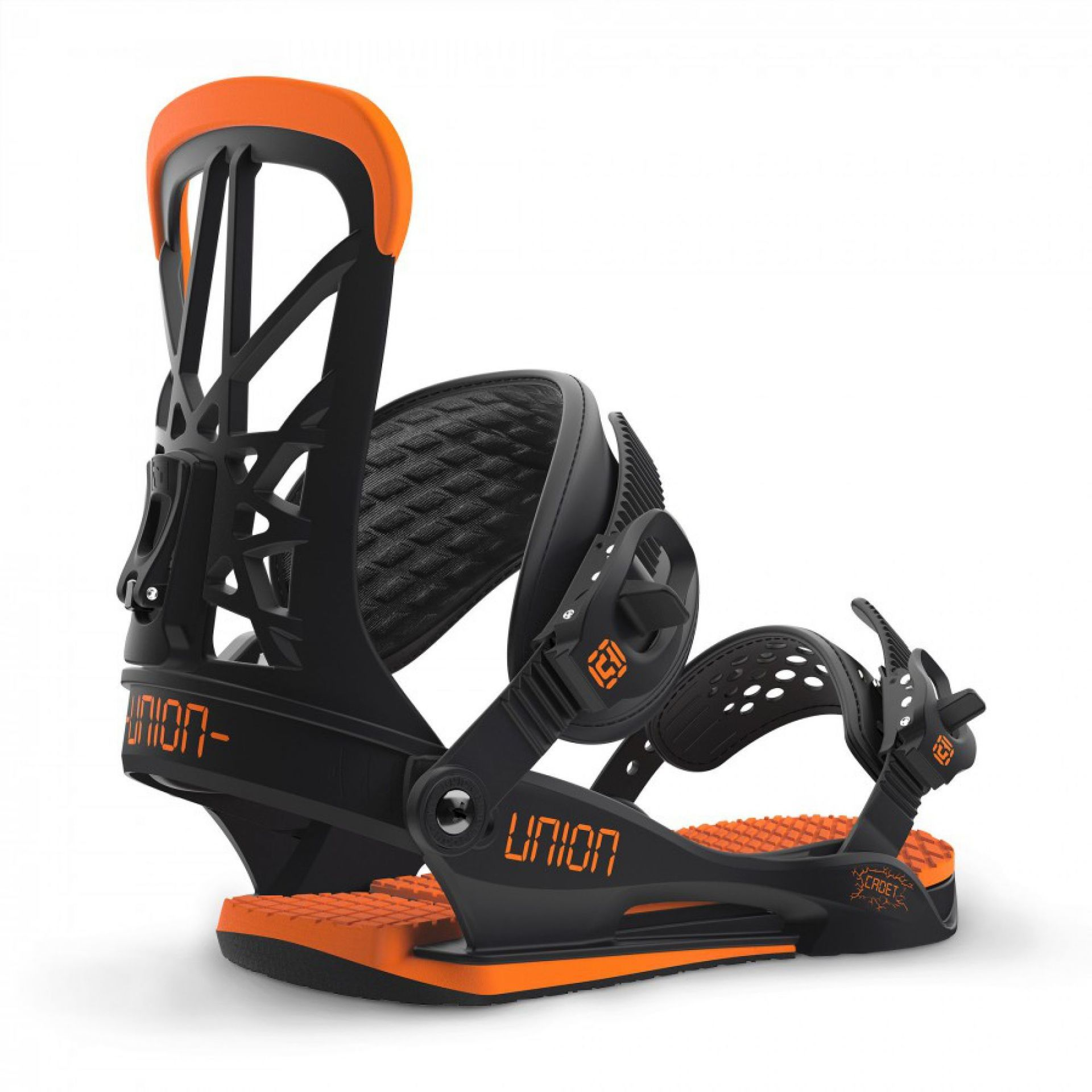 WIĄZANIA SNOWBOARDOWE UNION CADET BLACK ORANGE