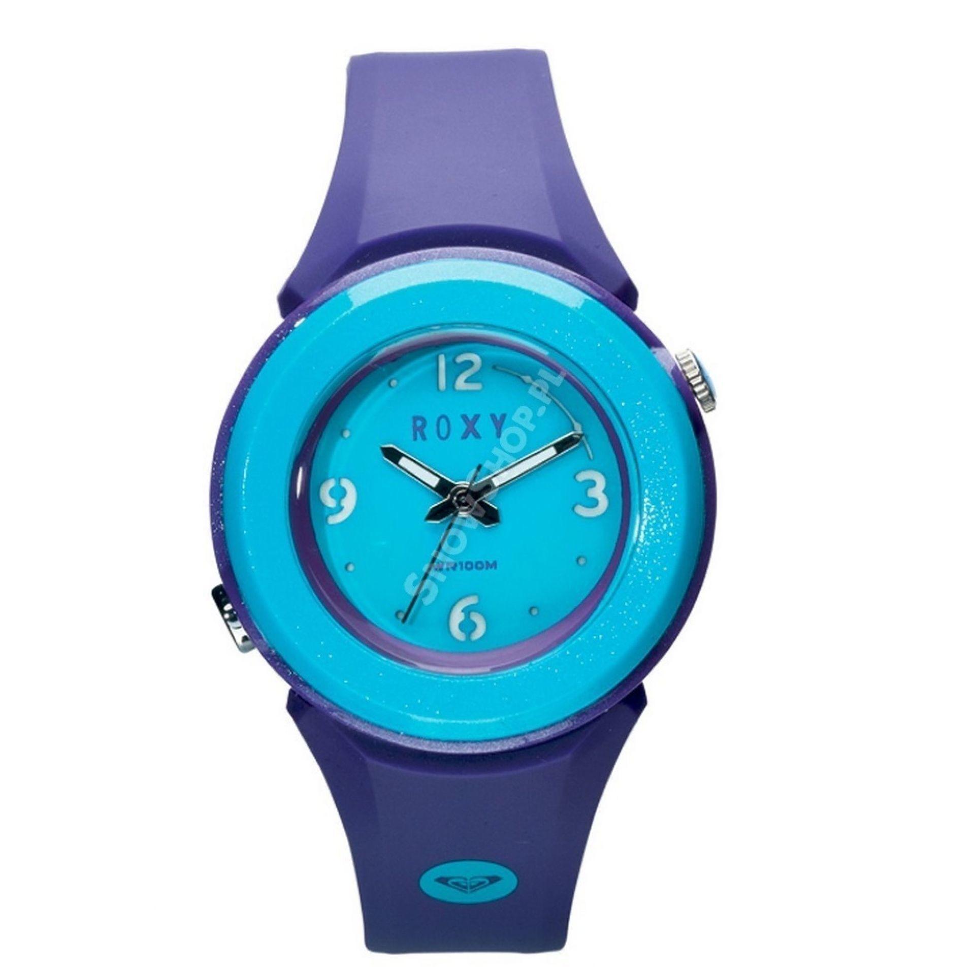 Zegarek Roxy Bright fioletowy