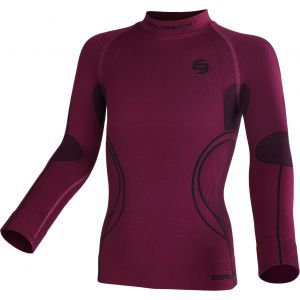 BLUZA BRUBECK THERMO JR LS11450-303  FIOLETOWY