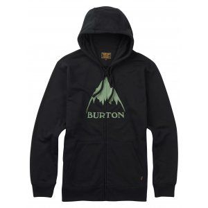 BLUZA BURTON  CLASSIC MOUNTAIN FULL ZIP  2017 CZARNY