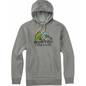 BLUZA BURTON  TAKE A HIKE  2017 SZARY