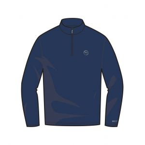 BLUZA ROSSIGNOL WARM STRETCH 1/2 ZIP 2017 NIEBIESKI