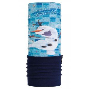 CHUSTA BUFF  POLAR JUNIOR FROZEN ADVENTURE SCUBA  NIEBIESKI