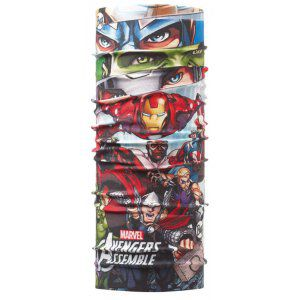 CHUSTA BUFF ORIGINAL JUNIOR SUPERHEROES ASSEMBLE  WIELOKOLOROWY
