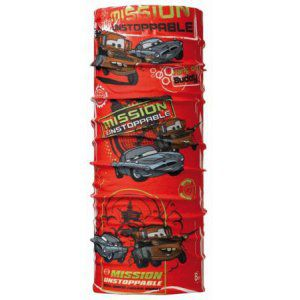 CHUSTA BUFF  ORIGINAL KIDS CARS MISSION   CZERWONY