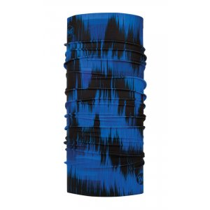 CHUSTA BUFF  ORIGINAL US PULSE CAPE BLUE  CZARNY NIEBIESKI