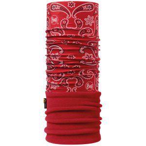 CHUSTA BUFF  POLAR CASHMERE RED 2017 CZERWONY