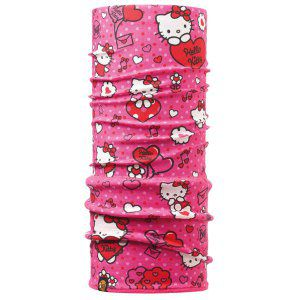 CHUSTA BUFF  POLAR CHILD HELLO KITTY BALLOON 2017 RÓŻOWY