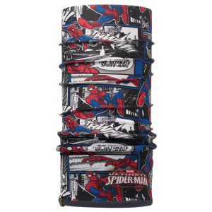 CHUSTA BUFF  POLAR JUNIOR SUPERHEROES THAWMM SPIDERMAN  CZERWONY|NIEBIESKI