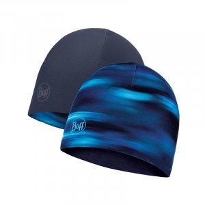 CZAPKA BUFF  MICROFIBER REVERSIBLE HAT SHADING BLUE   GRANATOWY|NIEBIESKI