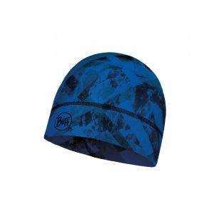 CZAPKA BUFF  THERMONET MOUNTAIN TOP CAPE BLUE  CZARNY|NIEBIESKI