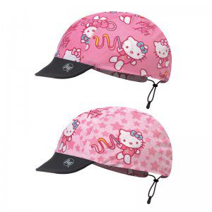 CZAPKA DWUSTRONNA BUFF  CHILD CAP HELLO KITTY GYMNASTICS PINK  RÓŻOWY