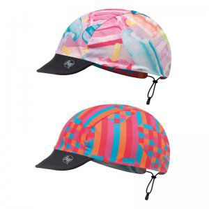 CZAPKA DWUSTRONNA BUFF  CHILD CAP ICY PINK MULTI  WIELOKOLOROWY