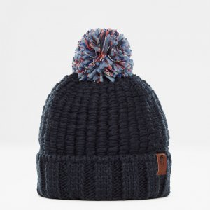 CZAPKA THE NORTH FACE COSY CHUNKY 2019 GRANATOWY