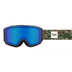 GOGLE TRIPOUT BLAZE CAMO|BROWN|BLUE BIRD