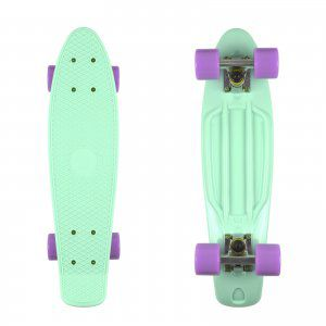 FISHBOARD FISH SKATEBOARDS CLASSIC MIĘTOWY|FIOLETOWY