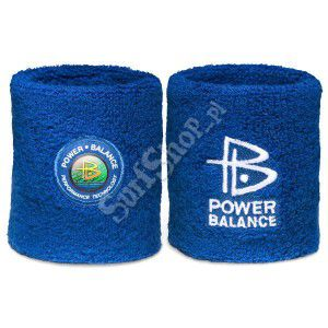 OPASKA FROTKA POWER BALANCE BLUE/WHITE