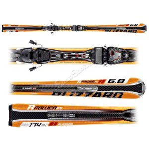 NARTY BLIZZARD R-POWER FULL SUSPENSION IQ 2013 + WIĄZANIA IQ POWER 11