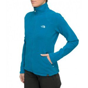 POLAR THE NORTH FACE  WOMEN'S 100 GLACIER FULL ZIP 2014 NIEBIESKI