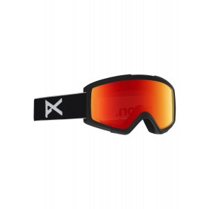 GOGLE ANON HELIX 2.0 2019 BLACK|SONAR RED|AMBER