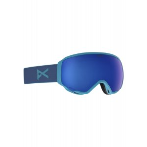 GOGLE ANON WM1 2019 BLUE|SONAR INFRARED BLUE|SONAR INFRARED