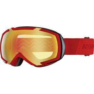 GOGLE ATOMIC REVEL M STEREO 2018 RED PINK-YELLOW STEREO