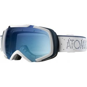 GOGLE ATOMIC REVEL S ML 2017 WHITE|LIGHT BLUE